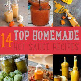 Top 14 (Delicious) Hot Sauce Recipes You Can Make