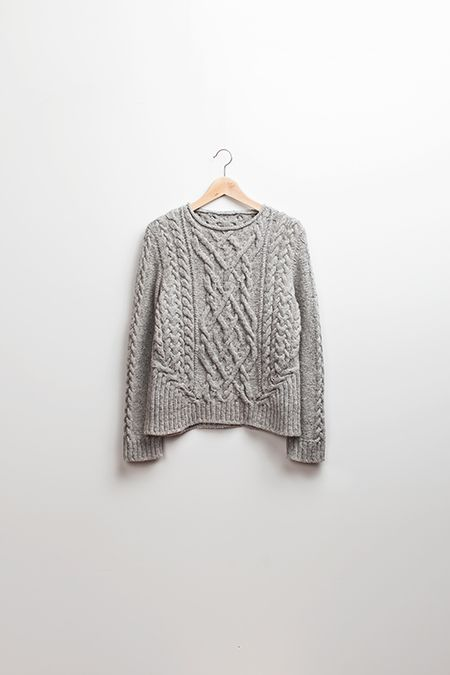 Brooklyn tweed: A conversation with Michelle Wang-Stonecutter Pullover. Great post about texture and construction on knitwear.