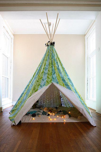 10x de leukste tenten voor thuis