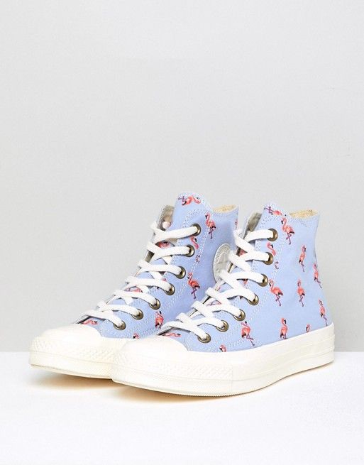 Converse Chuck Taylor All Star  70 Hi Sneakers In Blue Embroidered ... f500d81f6