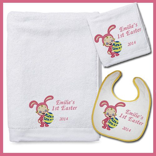 89 best bath towels gift sets images on pinterest bath towels baby girls first easter bath gift set custom by babyspreciousgifts 2500 negle Gallery