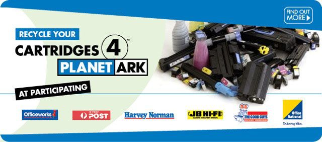 Where to recycle printer cartridges