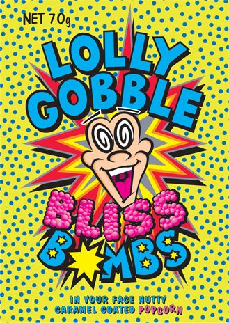 Lolly Gobble Bliss Bombs! - is that the craziest name for junk food ever, or what?? They are basically the same thing as Crunch 'N' Munch
