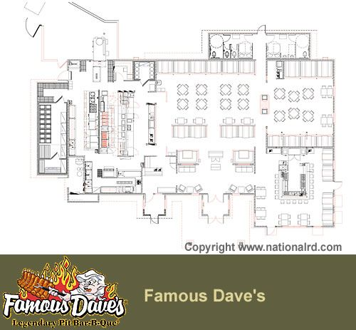 Bbq restaurant kitchen layout design inspiration 217640 for Blueprints of restaurant kitchen designs