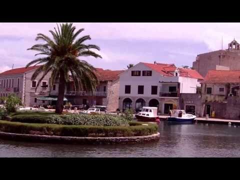Vrboska - wyspa Hvar w Chorwacji