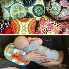Polštářek na kojení