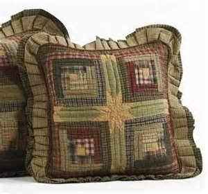 tea cabin quilted pillow cover 16 x 16