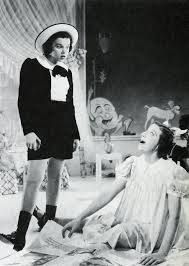 Judy Garland and Fanny Brice