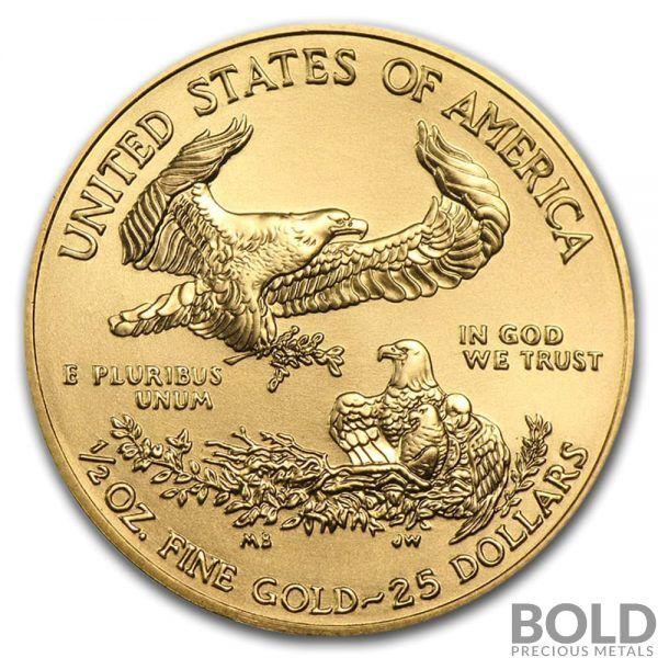 2020 Gold American Eagle 1 2 Oz Coin Bold Precious Metals Gold Eagle Coins Gold American Eagle American Eagle Gold Coin