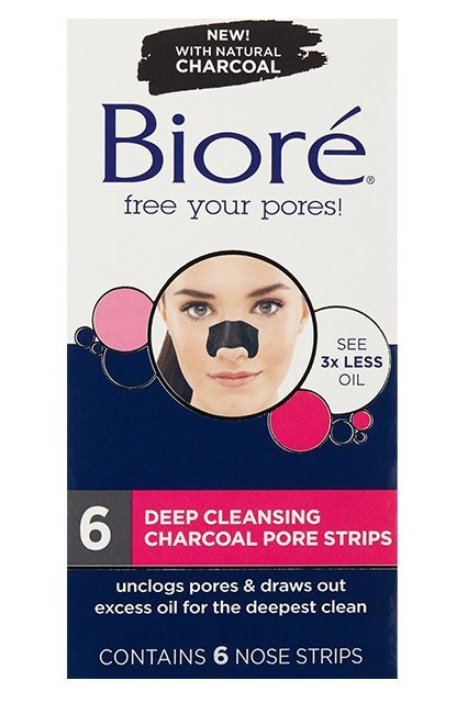 """I love prepping my clients' skin with these strips to make sure their nose doesn't get shiny on the red carpet, especially in warmer weather,"" Barose tells us. ""Apply one to the nose and leave it on for five minutes, then simply pull it off and your skin is ready for makeup!"""