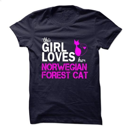 NORWEGIAN FOREST CAT - #t shirt #free t shirt. MORE INFO =>…