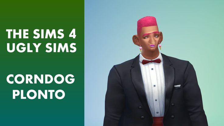 The Sims 4 - Ugly Sim Corndog Plonto