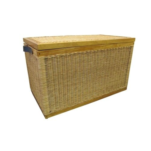 Buy Kensington Wicker Storage Trunk - Natural Willow - Lined