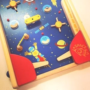Wooden Space Pinball