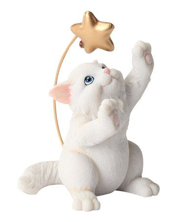 Look what I found on #zulily! Reach for the Stars Cat Figurine by Charming Purrsonalities #zulilyfinds
