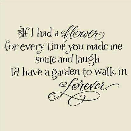 Quotes About Love Quote Garden : Garden Forever Love and Life Quotes Pinterest
