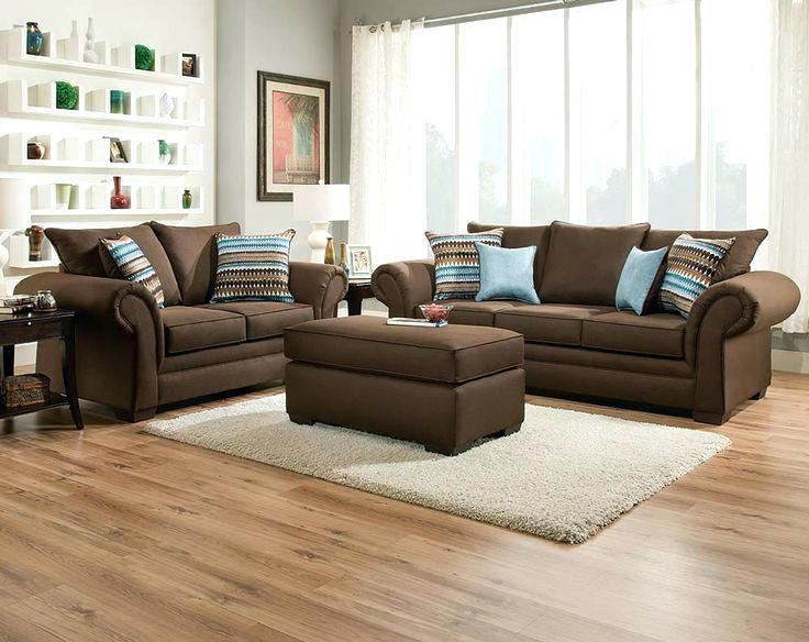 Image Result For Brown And Light Blue Living Room Brown Sofa