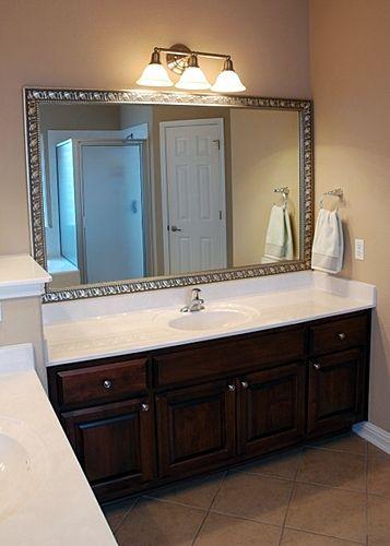 Best 20 Frame Bathroom Mirrors Ideas On Pinterest Framed Bathroom Mirrors Framing Mirrors And Framing A Mirror