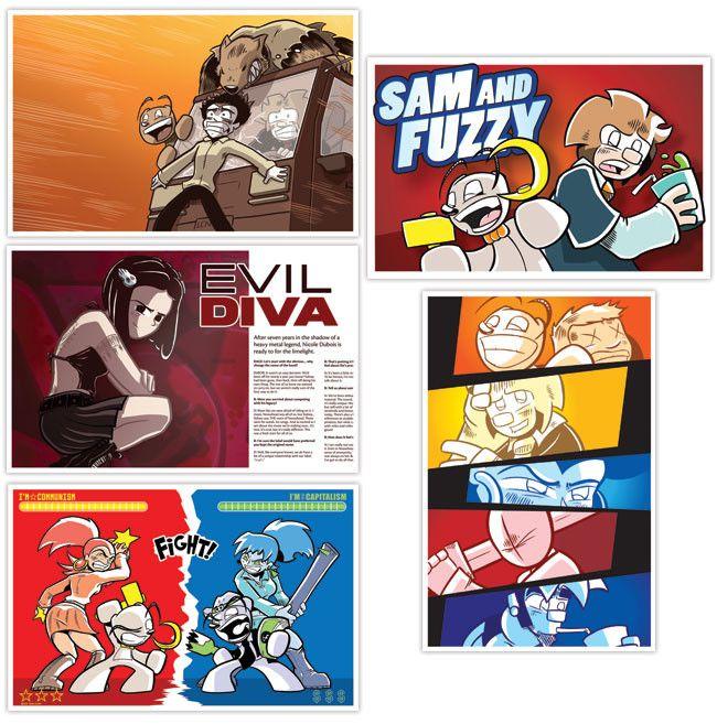 Sam and Fuzzy 11x17 Prints