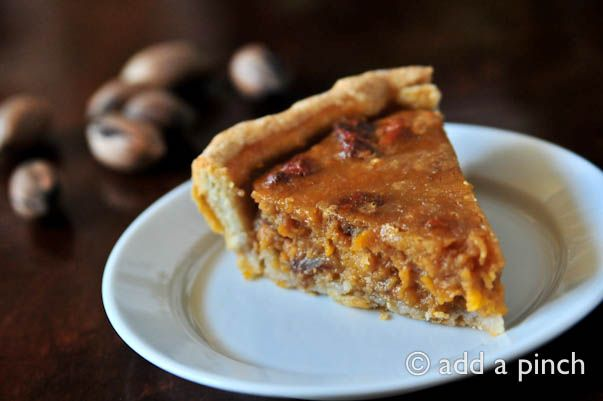 Sweet Potato Pecan Pie. The flavors are wonderful together and the ...