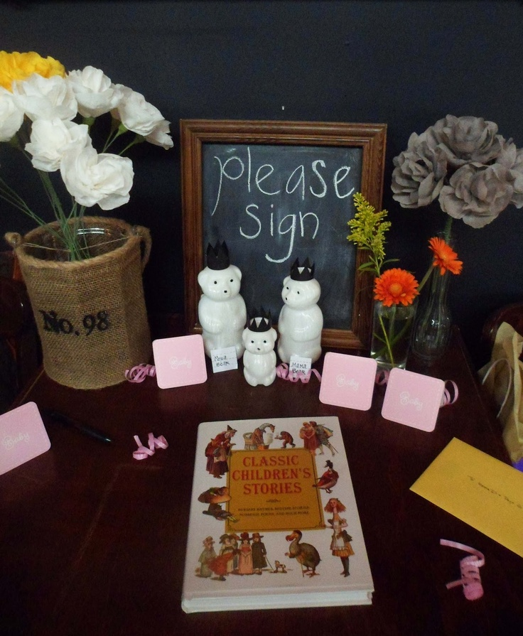 17 Best Images About Baby Shower Guest Sign In On