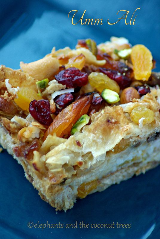 The easiest dessert to make ahead for any gathering. (Basic ingredients are store bought puff pastry,milk products and dry fruits)  #UmmAli  #OmAli  Egyptian Dessert / Middle Eastern Cuisine