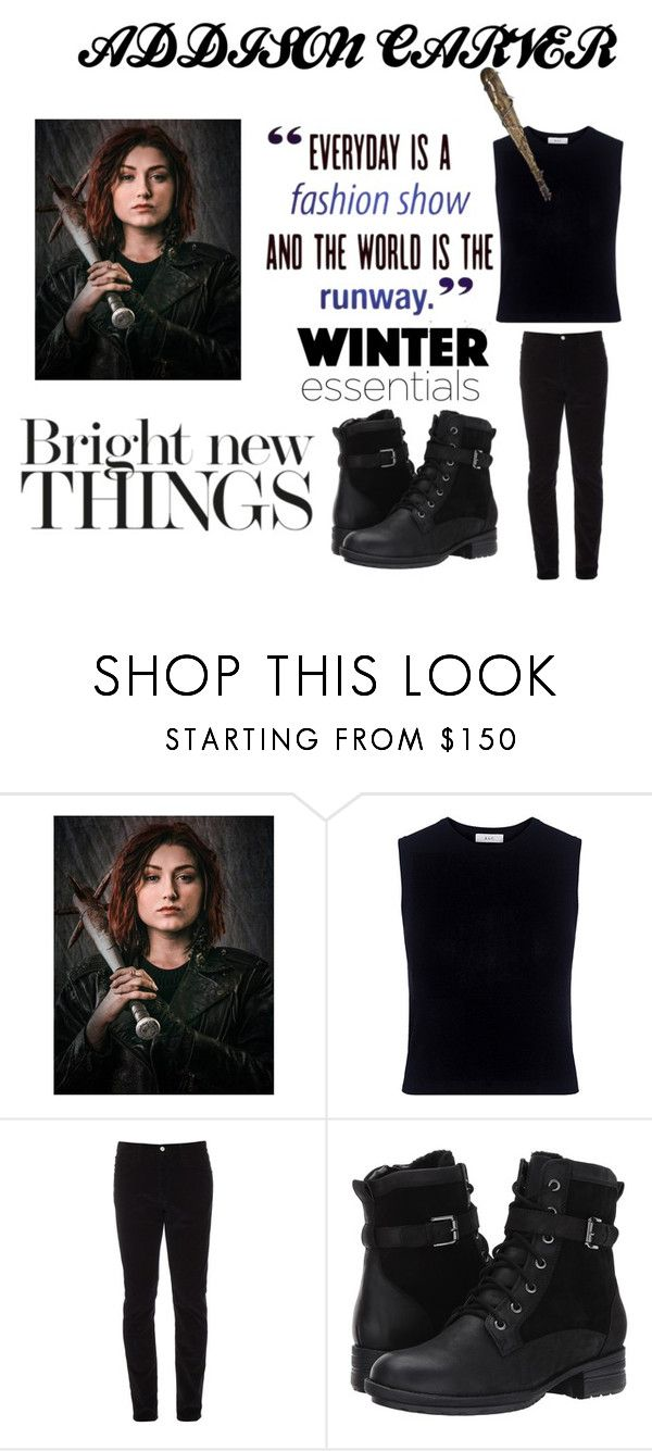 """""""Phenomenal look Addison Carver TV Series Z Nation"""" by ujackets ❤ liked on Polyvore featuring A.L.C., Barbed, Gucci and Blondo"""