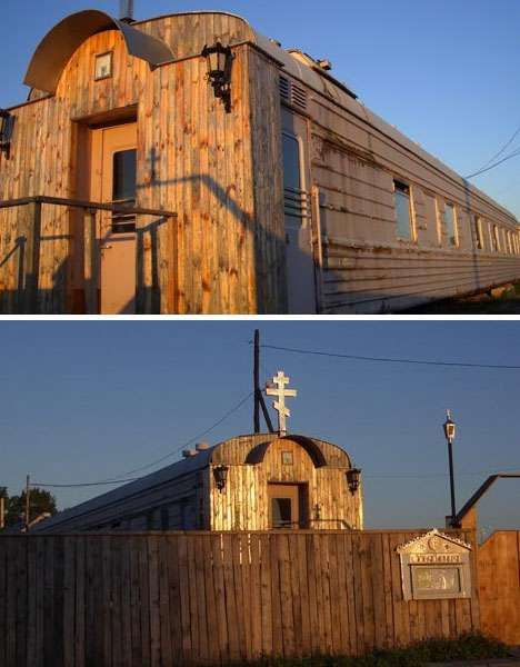 58 Clever Churches - From Transparent Sacred Chapels to Spikey Seed Sanctuaries (CLUSTER)