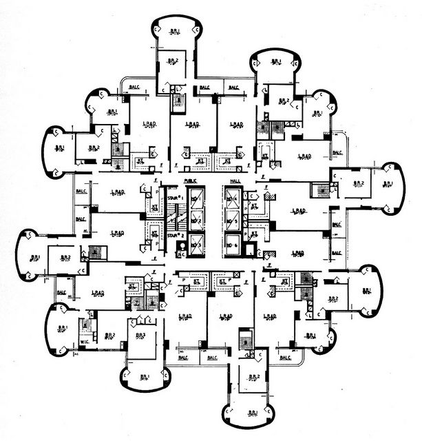 Tracey Towers, Paul Rudolph