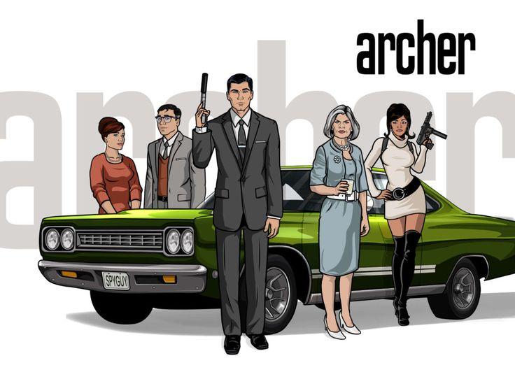 Animovaný seriál Archer míří na české obrazovky