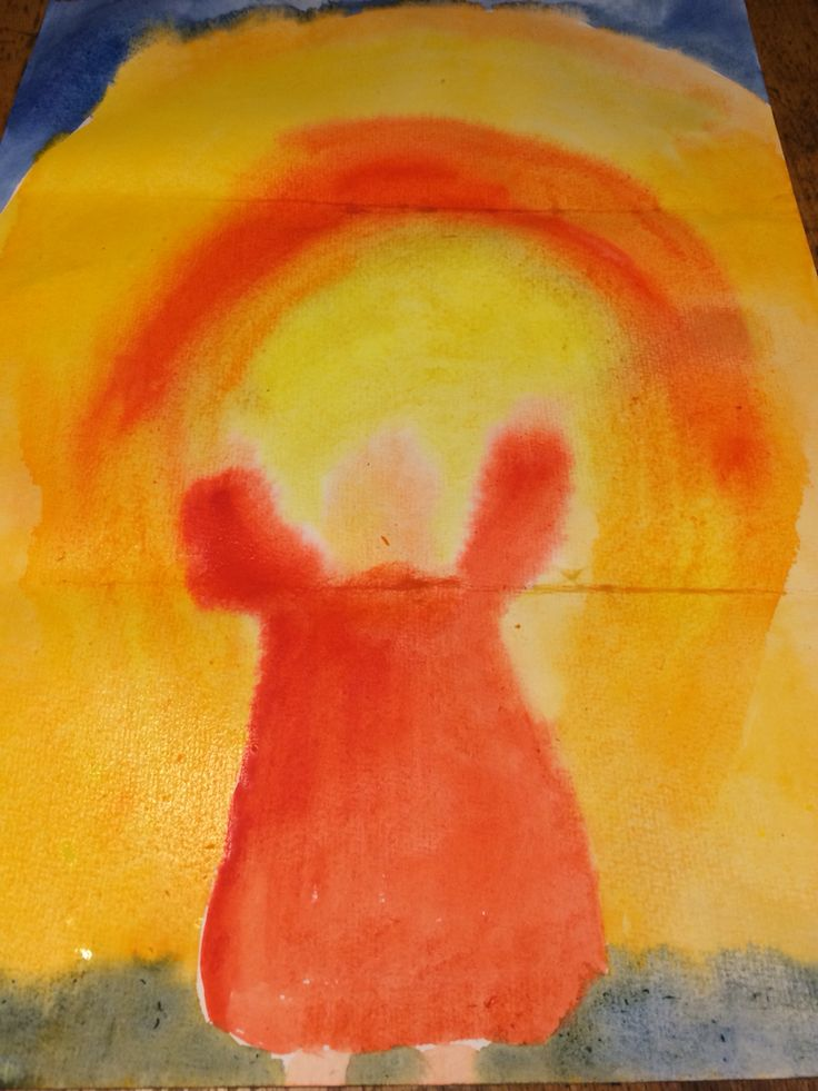 Canticle of the Sun watercolour