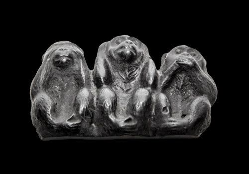 Magnet Three Monkeys by ShungiteofKarelia on Etsy
