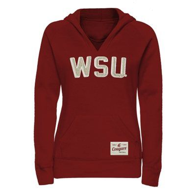 Washington State Cougars Ladies Legacy Pullover Hoodie #GoCougs