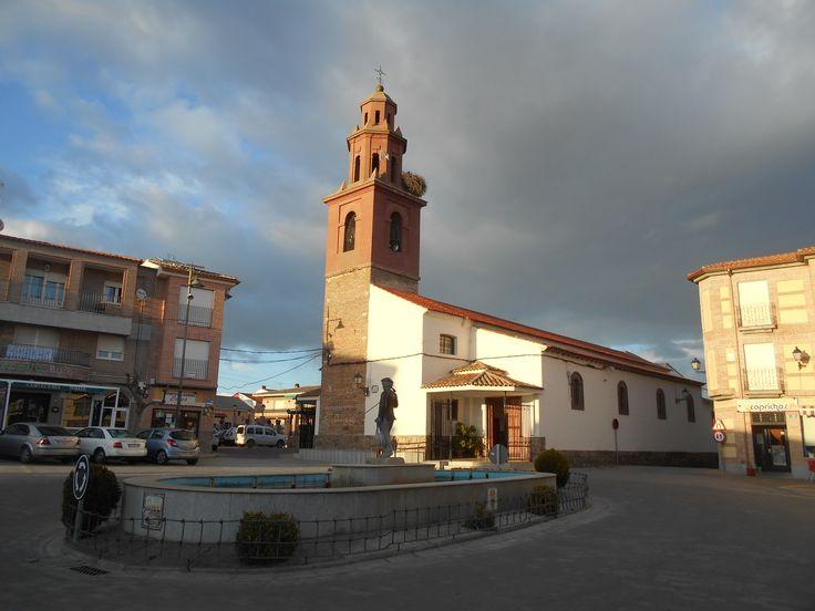 Cazalegas. Iglesia de San Vicente Mártir. Estilo mudéjar.