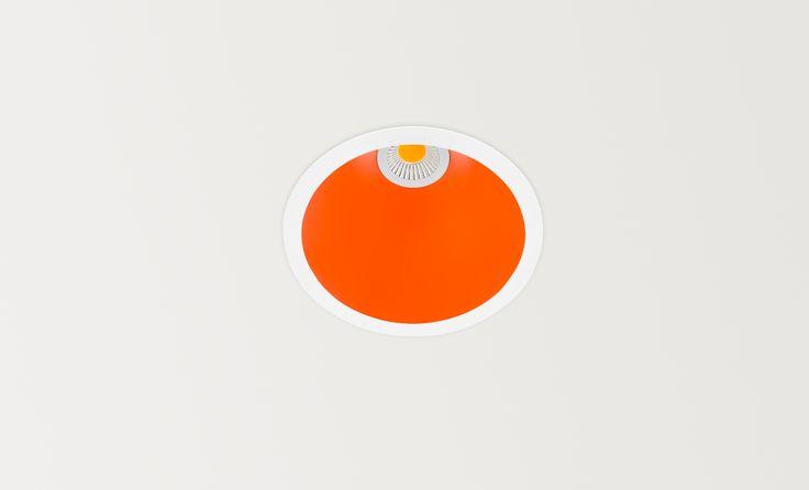 Swap orange - LED luminaire. Ceiling downlight (Ceiling Recessed). — in Arkoslight.