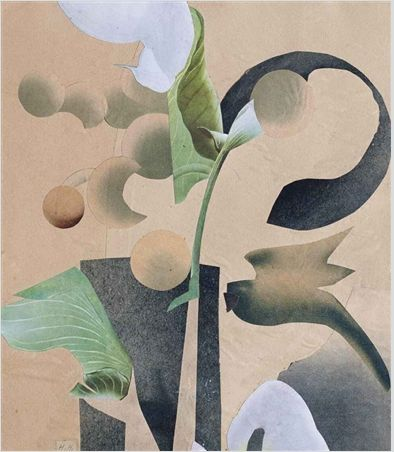 archives-dada:  Hannah Höch, Untitled, 1933, collage.