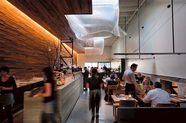 best-modern-wooden-restaurant-interior-concept  #modern