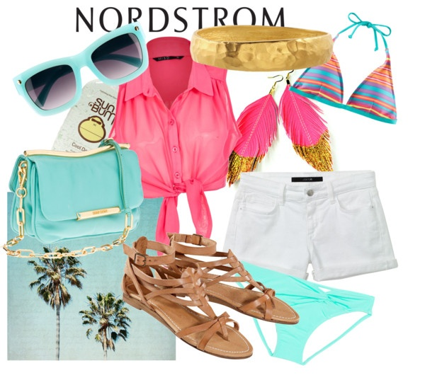 A Place in the Sun, Sponsored by Nordstrom, created by kailan-white on Polyvore