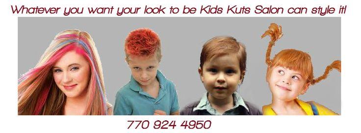 Kids Kuts Salon in Marietta - kids AND adults!! Be sure to tell them Macaroni Kid sent you!