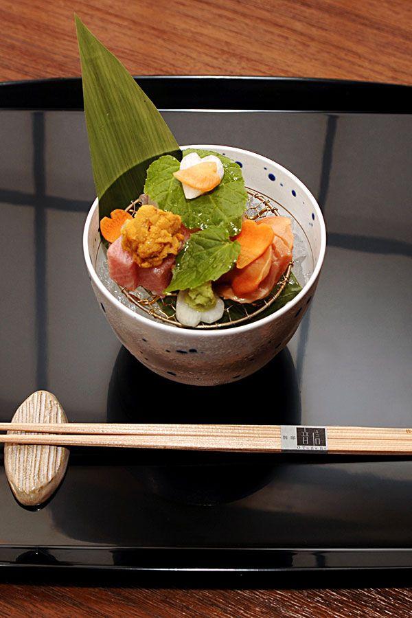 "traditional Japanese ""Kaiseki"""