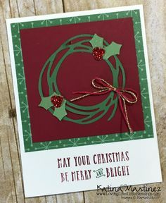 Image result for swirly birds stampin up christmas cards