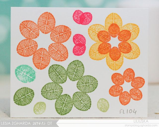 Огляд штампів із колекції Арт-Флора / Art Flora Stamps Review - Lesia Zgharda