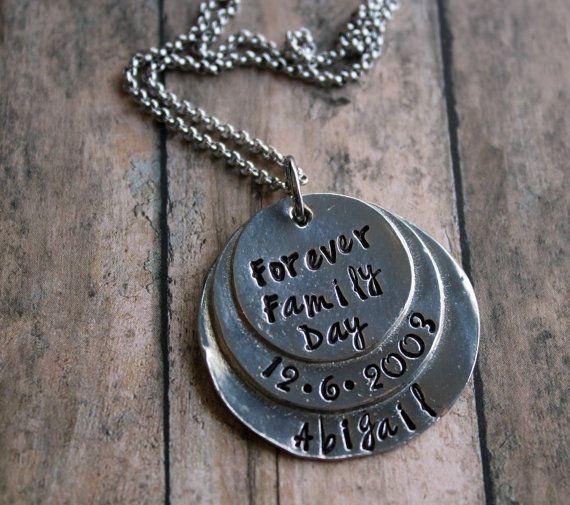 Adoption Necklace, China Adoption, Gotcha Day, Family Day, Personalized, Adoption Gift, Adoption Ornament, Adoption Key Chain, Unique