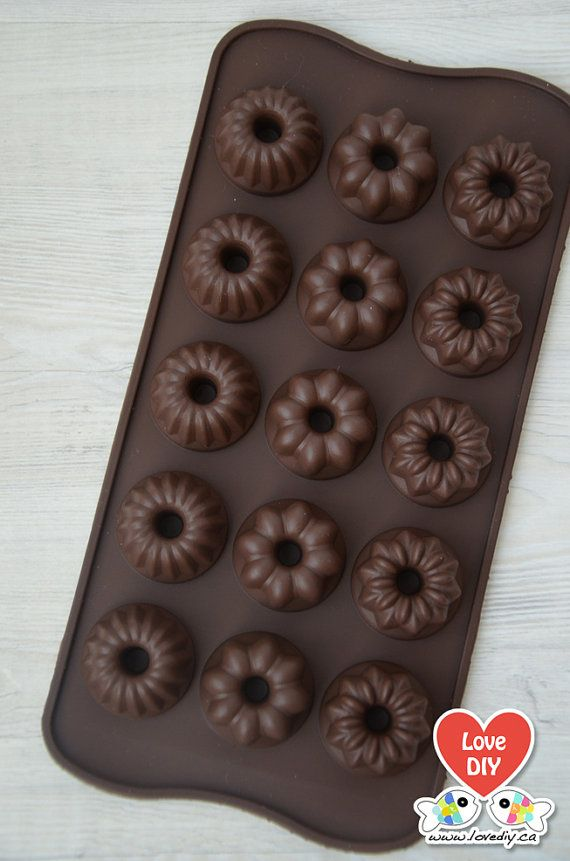 Silicone Chocolate Mold Candy by LoveDIY.ca on Etsy, $4.99