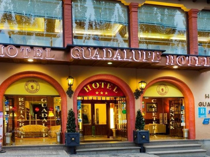 Granada Hotel Guadalupe Spain, Europe Hotel Guadalupe is perfectly located for both business and leisure guests in Granada. The hotel offers a high standard of service and amenities to suit the individual needs of all travelers. To be found at the hotel are 24-hour front desk, luggage storage, Wi-Fi in public areas, valet parking, car park. Each guestroom is elegantly furnished and equipped with handy amenities. Recuperate from a full day of sightseeing in the comfort of your ...