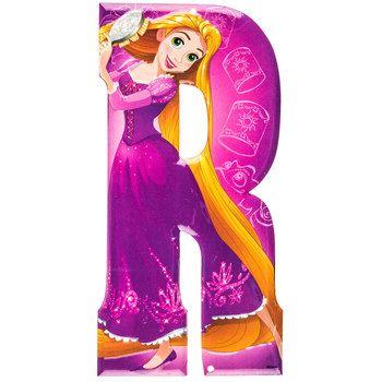 Rapunzel Disney Princess Tangled Metal Letter R⎜open