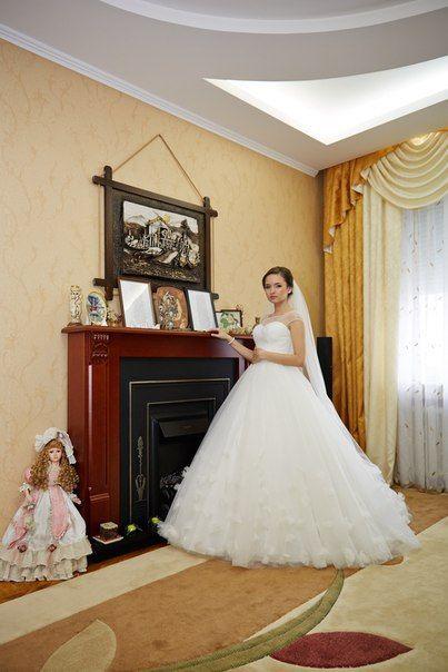 свадебный салон FASHION BRIDE Наша нежная невеста Юлия в платье от ТМ #Dominiss