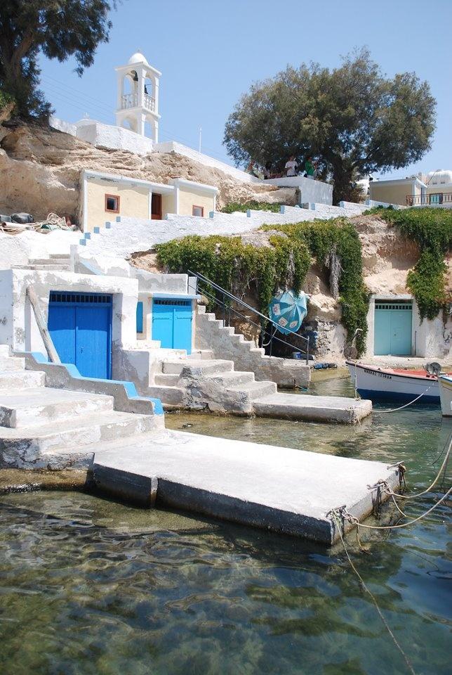 "Mandrakia, Milos Island, Cyclades, Greece  (photo by ""polluxe75"" )"