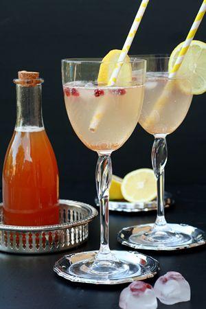 orientalischer Sirup mit Jasmin-Tee