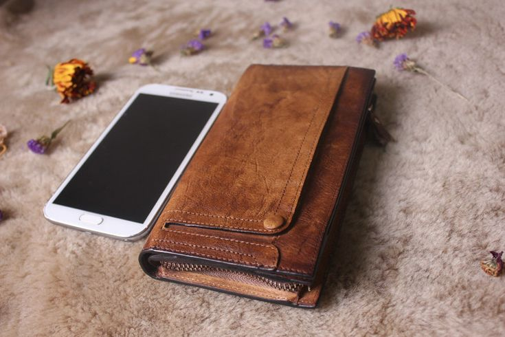 Brown leather wallet woman,leather wallet man,handmade wallet,leather purse,rustic wallet,unisex wallet by MagicLeatherStudio on Etsy https://www.etsy.com/listing/229040462/brown-leather-wallet-womanleather-wallet
